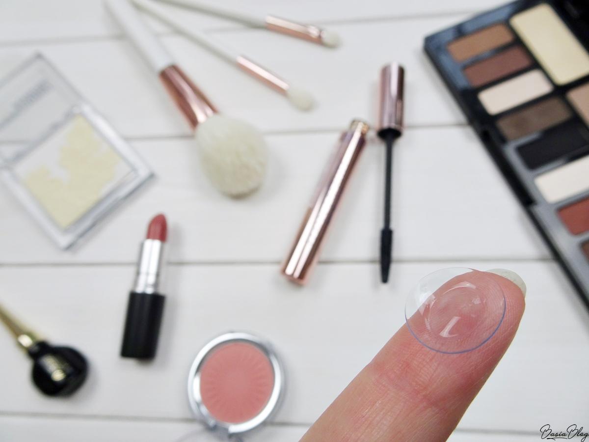 Soczewki kontaktowe a makijaż, makijaż a szkła kontaktowe, kosmetyki