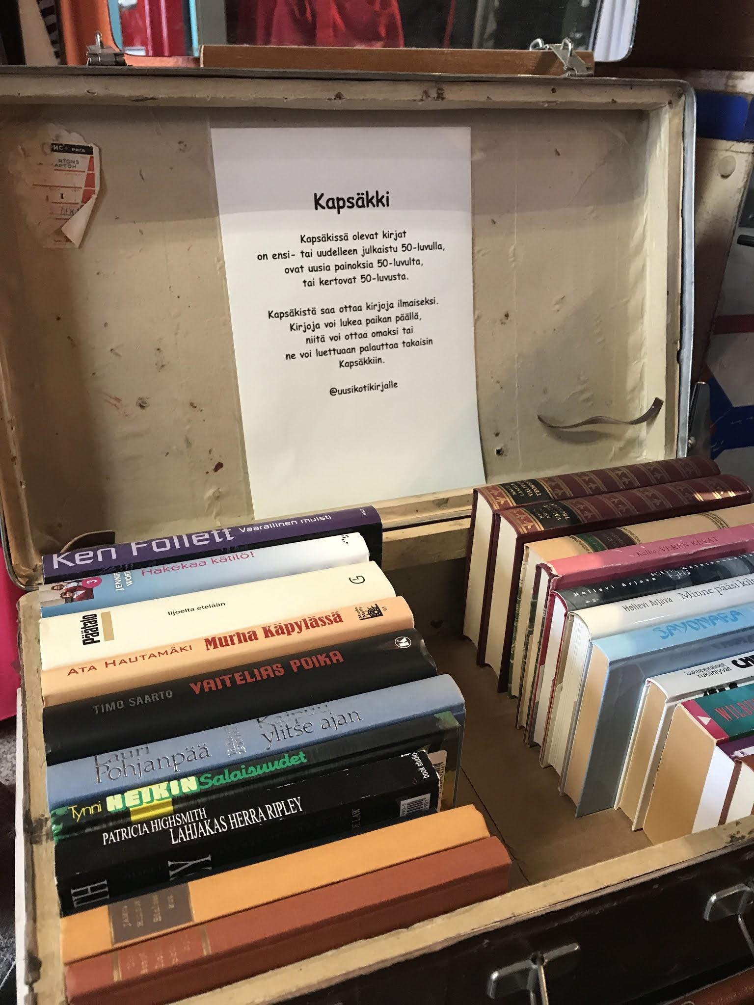 Käpäkkä kirjalaatikko