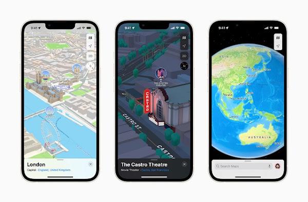 Apple Maps: New Ways to Explore Major Cities in 3D