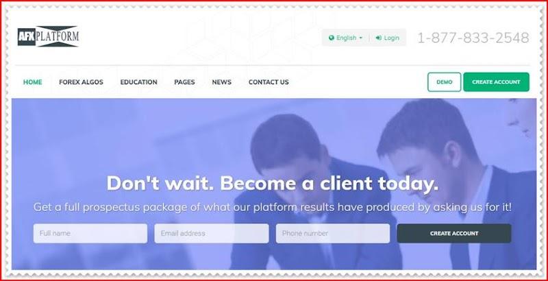 Мошеннический проект afxplatform.com – Отзывы, обман, развод. Компания AFX Platform мошенники