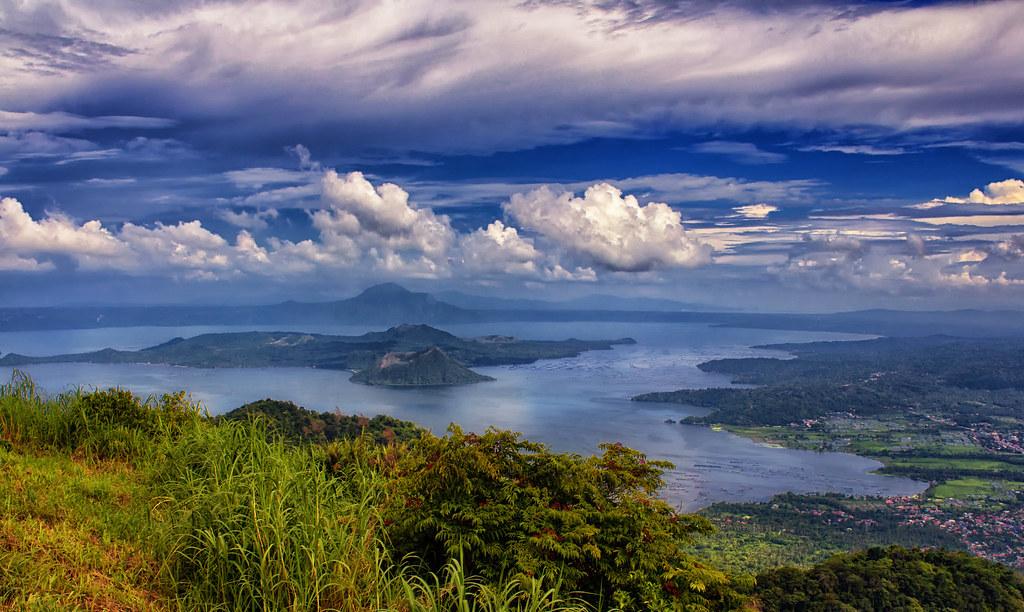 Danau Taal di Filipina