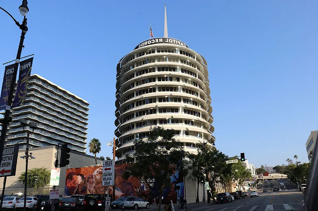 Capitol Records Building Los Angeles, USA