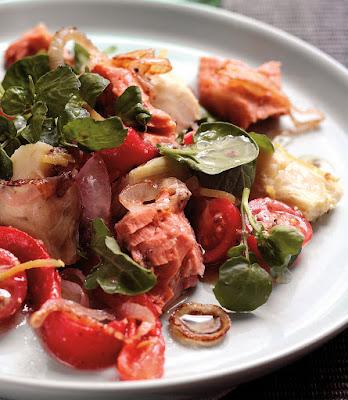 Wild Alaska Salmon & Warm Vegetable Salad