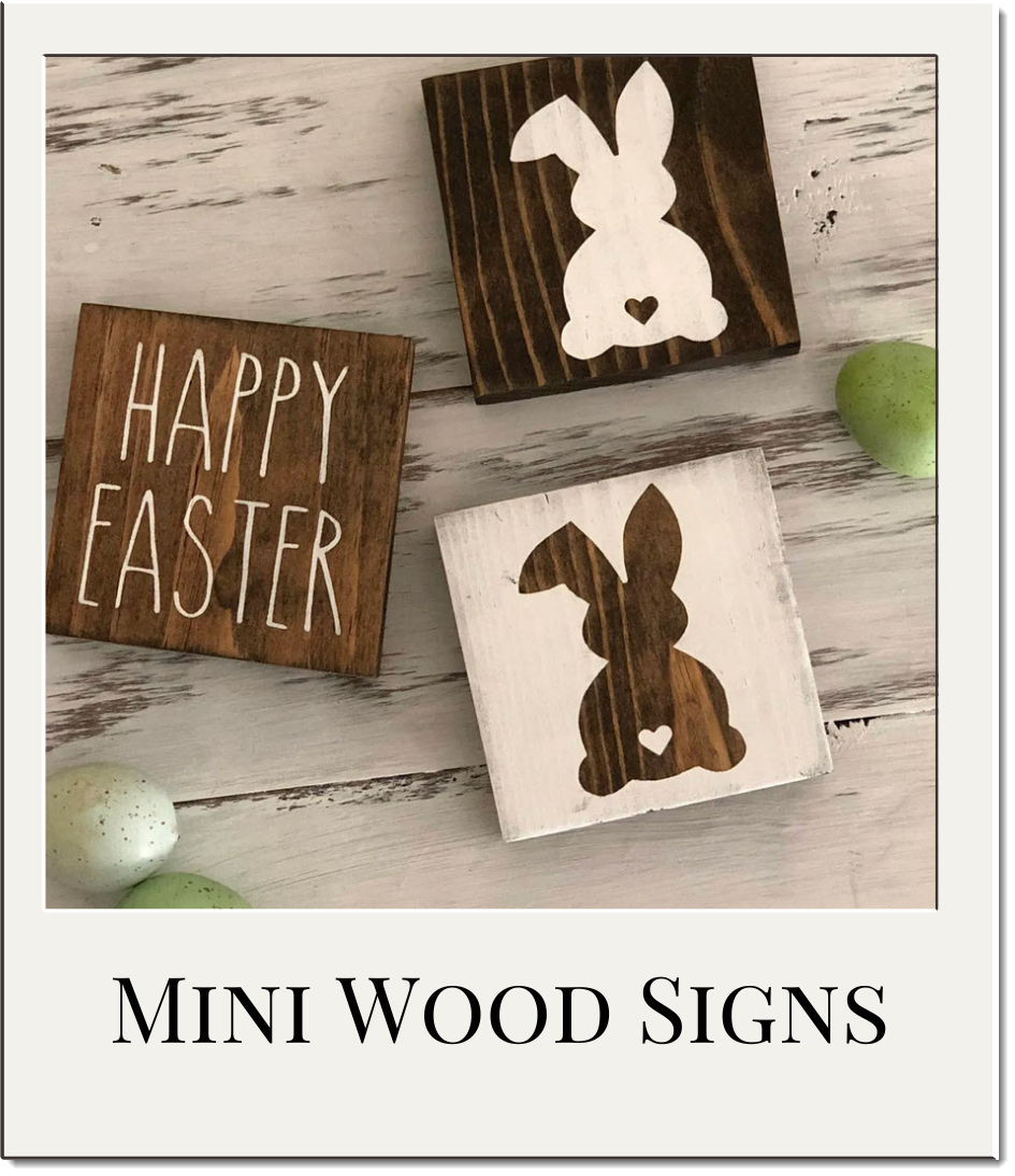 Tiered Tray Easter Sign