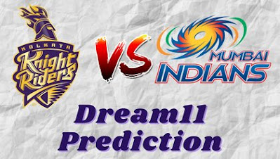 KKR vs MI Dream11 Prediction