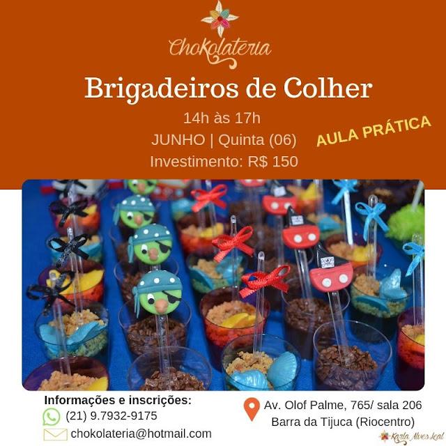 Curso | Brigadeiros de Colher - Junho 2019