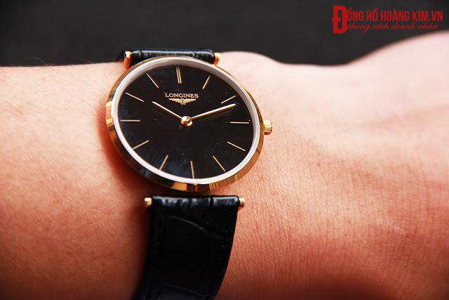 Đồng hồ nam dây da giá dưới 1 triệu L140 sang trọng