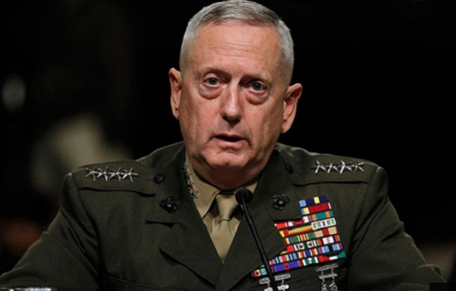"Menteri Pertahanan AS James Mattis ""MAd Dog"""