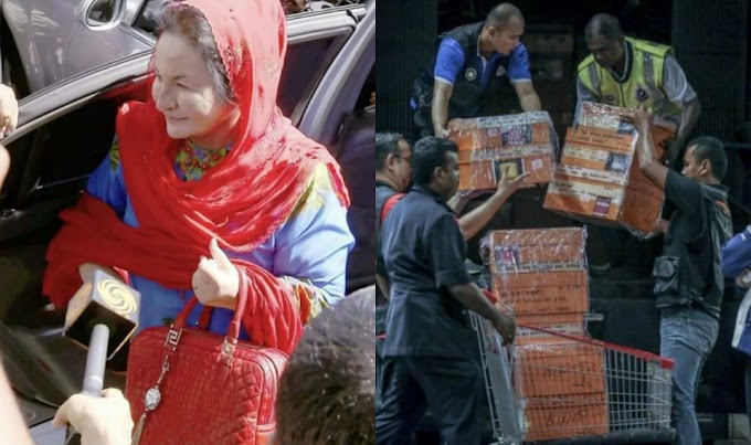 """Handbag rosak, Rosmah mintak ganti rugi atau ganti yang baharu!"""