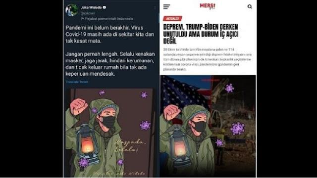 Netizen Curiga Akun Medsos Jokowi Comot Gambar dari Media Turki, Ini Penjelasan Istana