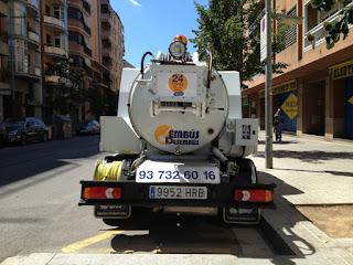 Limpieza de fosas sépticas en Barcelona