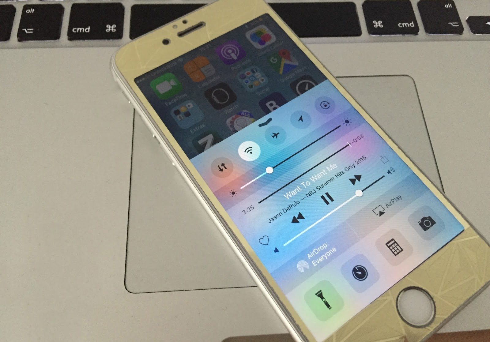 how to turn off airplay on iphone 7