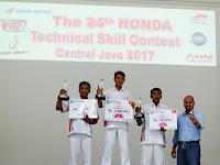 Technical Skill Contest Lahirkan Mekanik Honda Terbaik