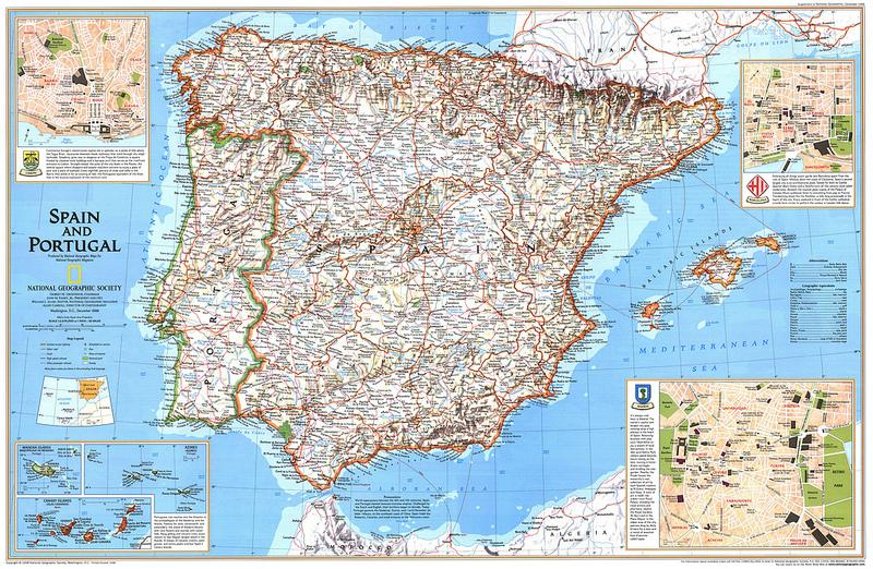 Novo Mapa Geologico De Portugal E Espanha Inclui Madeira E Acores
