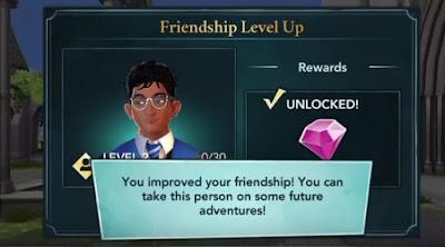 Harry Potter, Hogwarts Mystery, Win Gobstones Game