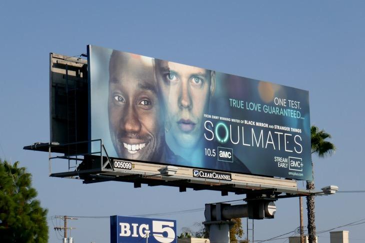 Soulmates series launch billboard