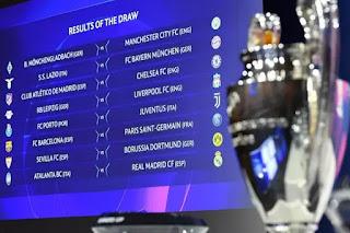 Liga dos Campeões terá PSG x Barcelona nas oitavas