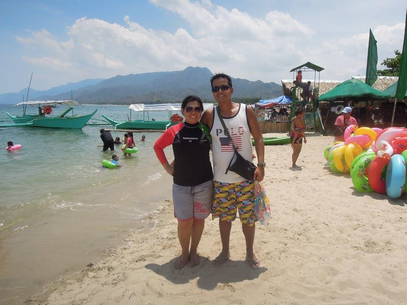 Enjoying the beach at Paseo Verde Beach Resort