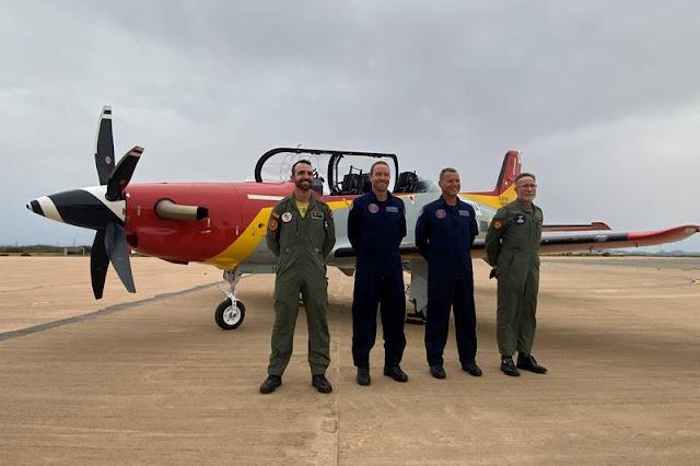 Spain receives first Pilatus PC21