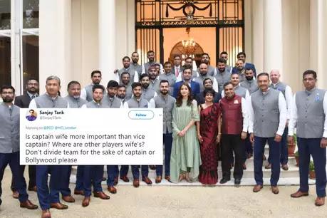 टीम इंडिया के साथ फोटो पर अनुष्का ने तोड़ी चुप्पी
