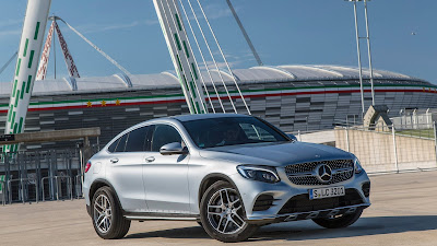 2017 mercedes benz glc300 coupe hd wallpaper