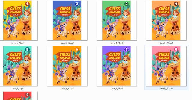 Sách bài tập cờ vua 9 level
