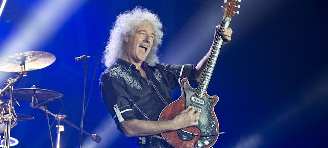 Este es el solo de guitarra favorito de Brian May, y no es de Queen