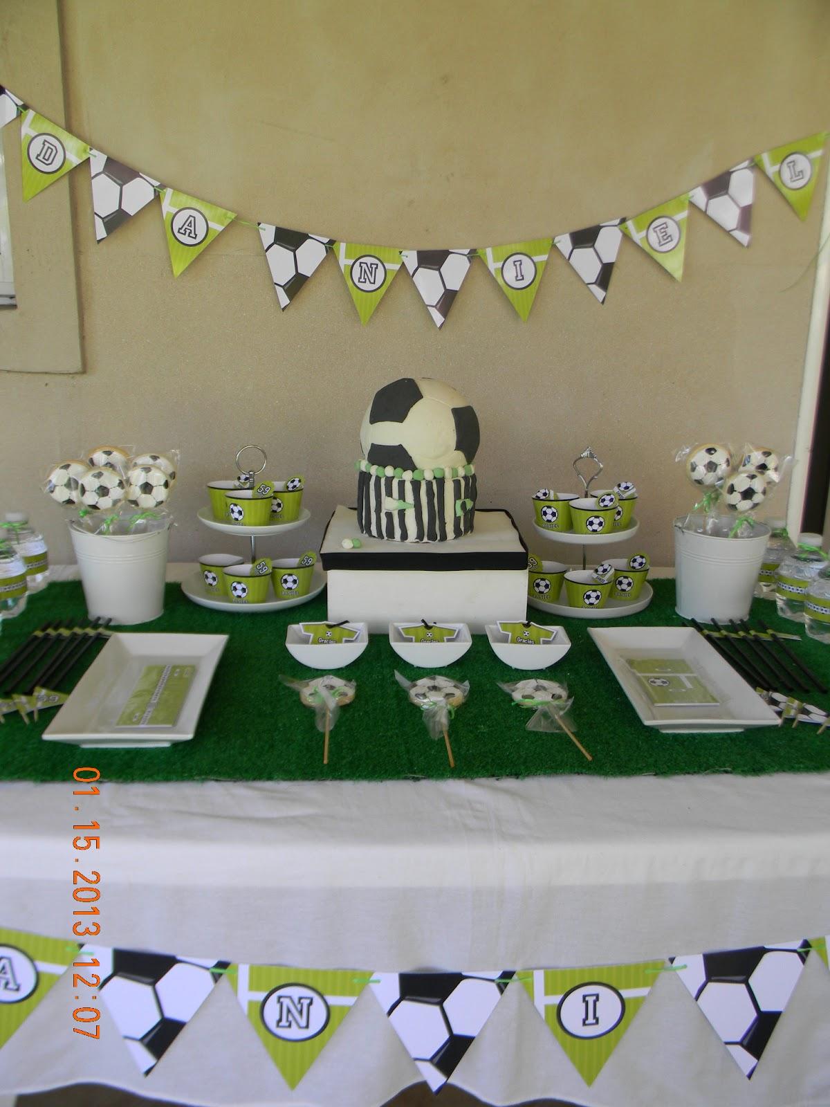 Cumples Tematicos  Cumpleaños de Futbol 4971749a84cc3