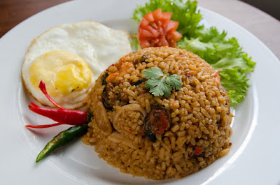 Nasi Goreng, Fried Rice, Kuliner Cirebon, Strawberry Delight