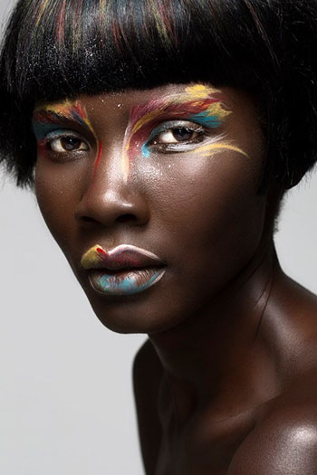 Ugandan Model Patricia Akello Serving Face In Beauty