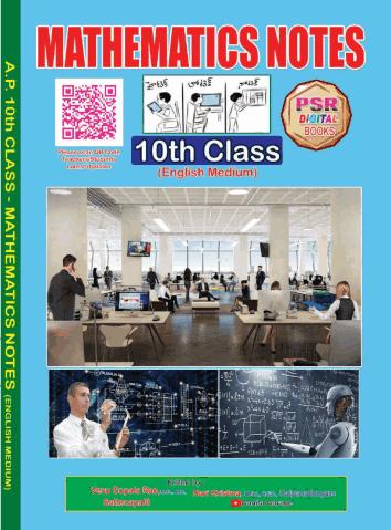 10th Class new syllabus Mathematics Notebooks EM and TM