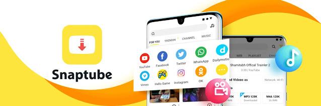 تنزيل Snaptube أفضل تطبيق لتنزيل مقاطع الفيديو من اليوتيوب والانستقرام  للاندرويد