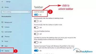[3 easy ways] how to unlock the taskbar on your Windows computer