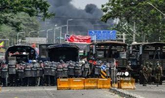 Pabrik China Dibakar Demonstran, Dianggap Ikut Serta Bantu Danai Junta Militer Myanmar