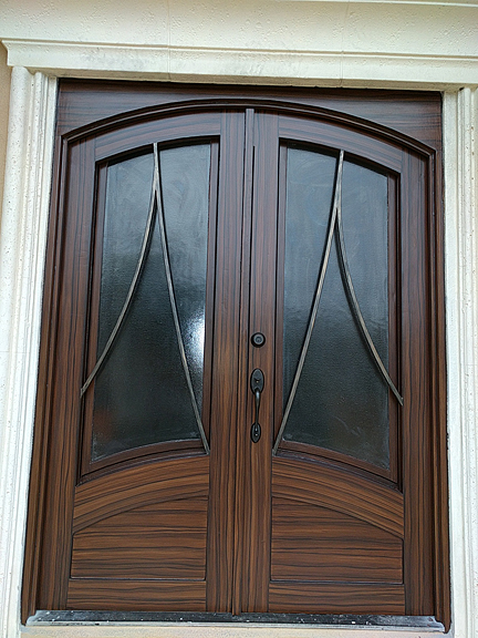 Painted Steel Entry Doors. how to spray paint the exterior ...