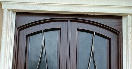 Paint steel entry doors to look like wood everything i for Wood look steel garage doors