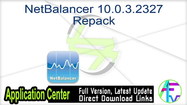 NetBalancer 10.0.3.2327 Repack