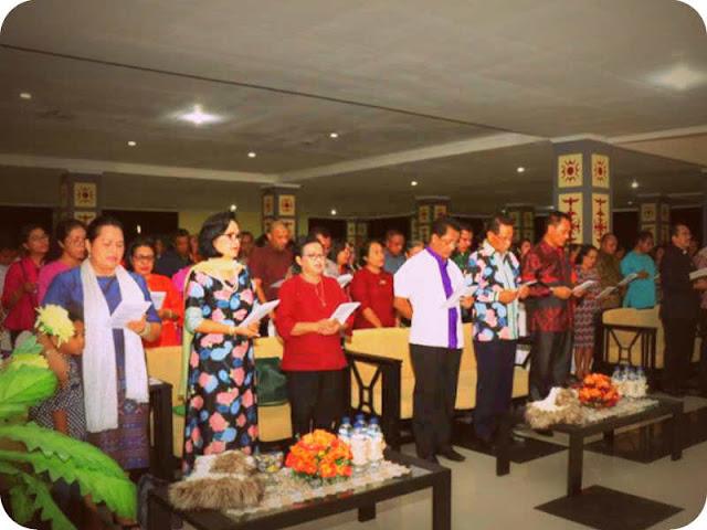 Sinode Gereja Protestan Maluku (GPM) Gelar Paskah Bernuansa Salam Sarane