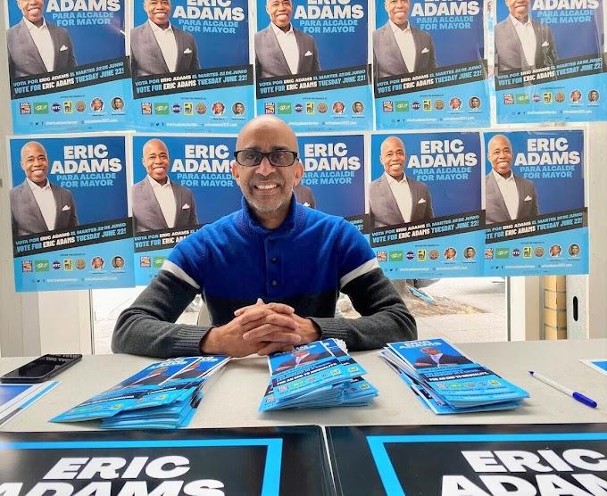 Eric Adams es el Alcalde que los hispanos necesitamos en la ciudad de New York dice experto en mercadeo Nolagko Nolasco