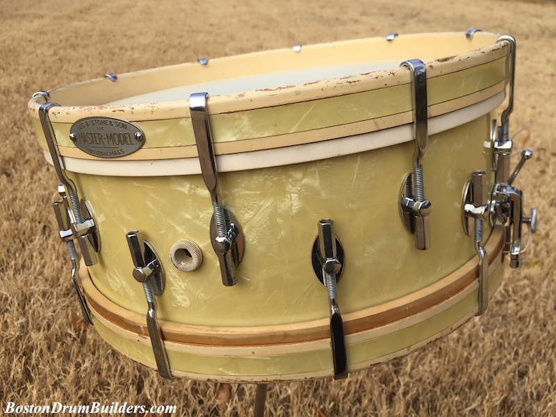 Lee's mid - late 1930s WMP Stone Master-Model Drum