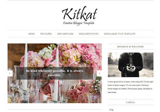 KitKat Beauty Blogger Template