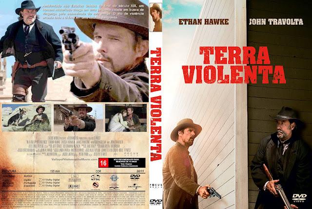 Capa DVD Terra Violenta