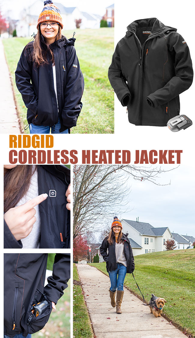 Cristina Garay - show me your style - Ridgid heated jacket - Fall style
