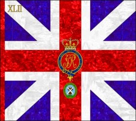 42nd Regiment of Foot (John Murray)  Kings Colour 1759