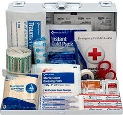 First Aid Only 178-Piece Contractor's First Aid Kit, OSHA Compliant - $21.71
