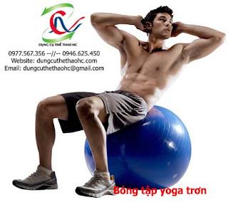 Bóng tập Yoga trơn Fitness Ball 65cm