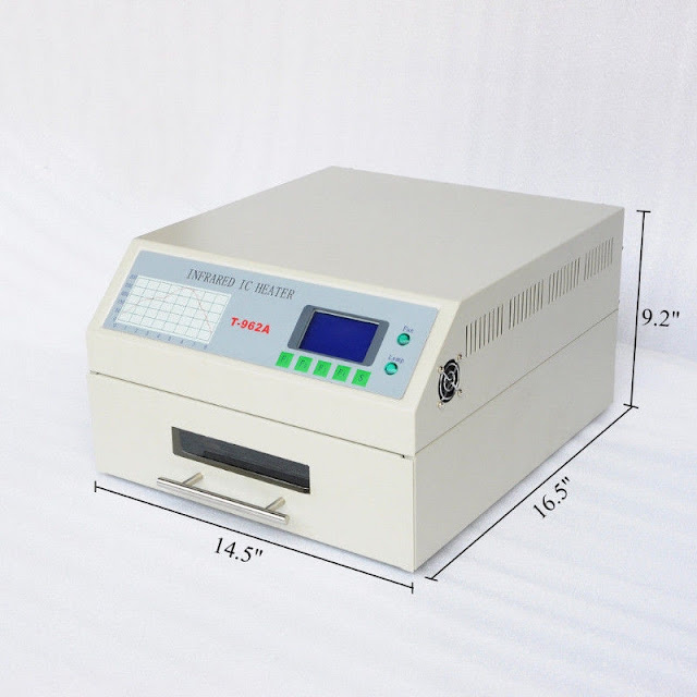 VE3SP Infrared IC Heater Micro-Computer Reflow Oven Amateur Radio Toronto Canada