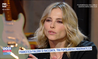 Francesca Fialdini labbra foto oggi è un altro giorno
