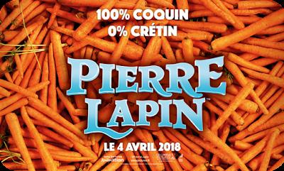 Cinéma : Les aventures de Pierre Lapin