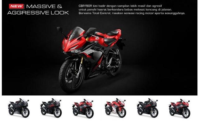 varian-harga-all-new-honda-cbr-150-r-2021-terbaru-